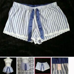 Victoria's Secret Striped Sleep Shorts